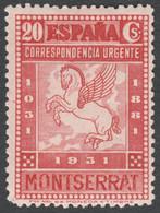 1931 Monasterio De Montserrat. Urgente- Edifil 649 - 1931-50 Unused Stamps