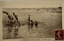 Andernos Les Bains - La Plage - Baigneurs - Enfants - Andernos-les-Bains