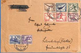 Allemagne Reich 1936 Lettre De Berlin (Olympiade 1936) (G2569) - Lettere