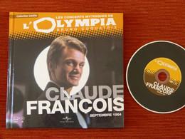 RARE CD + LIVRET -  CLAUDE FRANCOIS - CONCERT OLYMPIA SEPTEMBRE 1964 - NM - Compilations