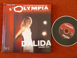 RARE CD + LIVRET -  DALIDA - CONCERT OLYMPIA JANVIER 1974 - NM - Compilations