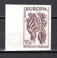 FRANCE  N° 1123 ESSAI DE COULEUR  NON DENTELE  NEUF SANS CHARNIERE  COTE  MAURY 120.00€ EUROPA - Imperforates