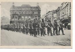 200REF/ CP-PK Deutsche Infanterie In Brüssel - Esercito Tedesco