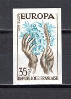 FRANCE  N° 1123 ESSAI DE COULEUR MULTICOLORE  NON DENTELE  NEUF SANS CHARNIERE  COTE  MAURY 210.00€ EUROPA - Imperforates