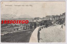 BENEVENTO - PANORAMA VISTO DALLA VILLA F/PICCOLO VIAGGIATA  ANIMAZIONE - Benevento