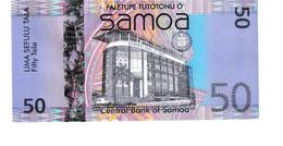 Samoa P.41a 50 Tala 2008 A-unc - Samoa