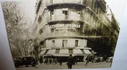 """Carte Postale """"Cart'Com"""" (2003) Restaurant, Bar, Café - Triadou Haussman (photo Ancienne, Extérieur De L'établissement) - Ristoranti"""