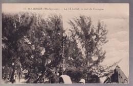 CPA Coloniale - Madagascar - Majunga - Le 14 Juillet , Le Mat De Cocagne - Circulée - Madagascar