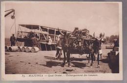 CPA Coloniale - Madagascar - Majunga - Quai Orsini - Déchargement Des Bananes - Circulée - Madagascar