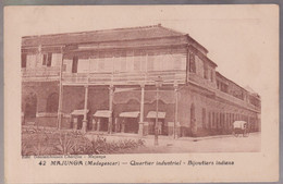 CPA Coloniale - Madagascar - Majunga - Quartier Industriel - Bijoutiers Indiens - Circulée - Madagascar