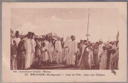 CPA Coloniale - Madagascar - Majunga - Jour De Fête - Jeux Aux Ciseaux - Circulée - Madagascar