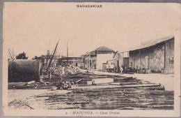CPA Coloniale - Madagascar - Majunga - Quai Orsini - Circulée - Madagascar