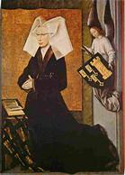 Art - Peinture Religieuse - Beaune - Hotel Dieu - Portrait De Guigone De Salins Fondatrice De L'Hotel Dieu - CPM - Voir - Gemälde, Glasmalereien & Statuen