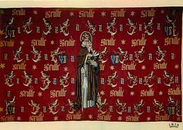Art - Tapisserie - Hostel Dieu De Beaune - Tapisserie à Fond Framboise De Guigone De Salins Semée De Tourterelles Avec S - Sonstige
