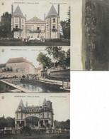 HERMONVILLE -  Lot De 4 CPA - Edition Des Comptoirs Français - Other Municipalities