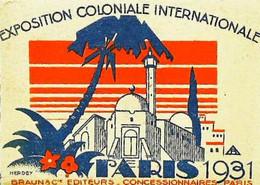 ►  Image Exposition Coloniale Paris 1931   Braun  éditeurs - Andere