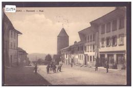 ROMONT - UNE RUE - TB - FR Fribourg