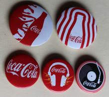 5 Badges Collector COCA COLA - Altri