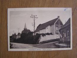 WARGNIES LE GRAND Chemin Du Ravin Animée  59 Carte Postale Post Card - Other Municipalities