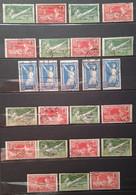 Lot Timbres VIIIe Olympiade Paris 1924. Oblitérés - Usados