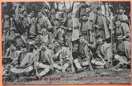 CARTE LE CAPETAN COSTAS GAREFIS - SOUVENIR DE GRECE - MILITARIA -2 SCANS-16 - Greece