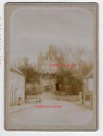 Beau Cliché Vers 1892-Chateau De Montmort (51) En Champagne-format 13,5x18,5cm-collection Paulin Perbal De Congy - Lieux