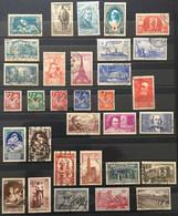 1939 (°) Oblitérés Année Complète YT 419 à 450 32 Valeurs (côte 147 Euros) France – 5bleu - ....-1939