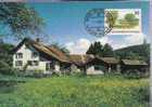 LIECHTENSTEIN CARTE MAXIMUM NUM.YVERT 1133 RUGGELL VILLAGE - Maximumkarten (MC)
