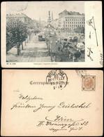 Ansichtskarte Wien Praterstern, Straßenbahn - Viehwagen 1908 - Sin Clasificación
