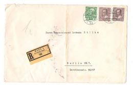 Einschreibbrief Wien Briefaufgabeamt 90, Gelaufen 1913 - Brieven En Documenten