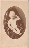 Photo CDV N° 177 - Jeune Enfant Bébé Médaillon -  Photographe Juan B VARONNE Montevideo Uruguay - Old (before 1900)
