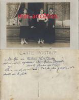 Carte Photo-LE HAVRE, Quartier De L'Eure-Emilienne LE BRETON Blanchisseuse Chez Mme DAVOULT - Professions