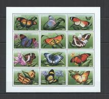PK291 LIBERIA FLORA & FAUNA BUTTERFLIES & FLOWERS 1SH MNH - Vlinders