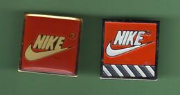 NIKE *** Lot De 2 Pin's Differents *** 2123 (5-7) - Markennamen