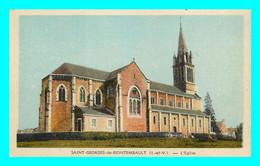 A786 / 115 35 - SAINT GEORGES DE REINTEMBAULT Eglise - Altri Comuni