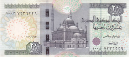 EGYPT 20 EGP POUNDS 2019 P-65 NEW SIG/T.AMER #24 REPLACEMENT 9 0 0 SPECED UNC - Egitto