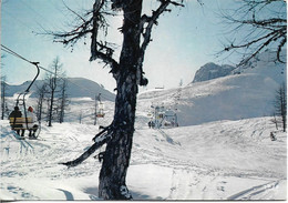 CPSM. CHAMONIX MONT BLANC. TELESIEGES DE LA COMBE DES VIOZ. LE BREVENT. - Chamonix-Mont-Blanc