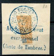!!! MADAGASCAR, N°80 OBLITERATION SUPERBE SUR FRAGMENT - Used Stamps