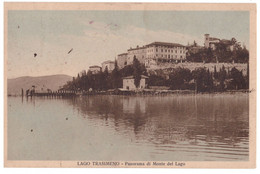 1931 LAGO TRASIMENO 1 PANORAMA MONTE DEL LAGO  PERUGIA - Perugia