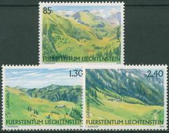 Liechtenstein 2006 Natur Weidealpen 1424/26 Postfrisch - Ungebraucht