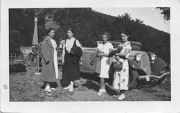 "2238"" FOTO-AUTO ALFA ROMEO  TARGA VC6777 AD OROPA 1937"" MISURE (7.50X 11.50) - Automobiles"
