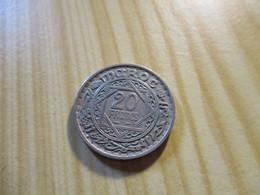 Maroc - 20 Francs Mohammed V 1947.N°3068. - Marocco