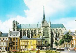80 Amiens Le Croisillon Sud De La Cathédrale Notre Dame (carte Vierge) - Amiens