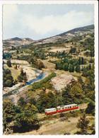 Carte ( Format 15 X 10,5 Cm  ) LAMASTRE TOURNON Le Mastrou Dans La Vallée ( Train Autorail ) - Lamastre