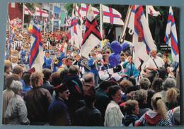Faroe Island. The 50th Anniversary Of The Faroese Flag - Faeröer