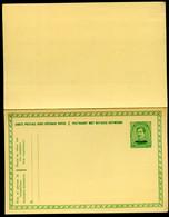 MALMÉDY Carte Postale Avec Réponse Payee BK2 1920 Cat. 30,00 € - Eupen & Malmedy