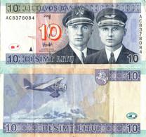 Lithuania / 10 Litu / 2007 / P-68(a) / VF - Lituanie