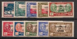 Wallis Et Futuna - 1939-40 - N°Yv. 77 à 86 - Série Complète - Neuf Luxe ** / MNH / Postfrisch - Unused Stamps