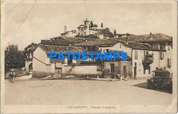 164963 ITALY CASTAGNITO SQUARE UMBERTO BREAK POSTAL POSTCARD - Unclassified