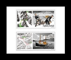 Faroe Islands 2020 Mih. 981/82 Europa. Ancient Postal Routes (self-adhesive) MNH ** - Faroe Islands